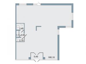 Коммерческое помещение 174 кв.м.