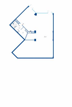 Коммерческое помещение 201,3 кв.м. Legenda на Яхтенной, 24