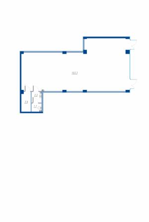 Коммерческое помещение 111,1 кв.м. Legenda на Яхтенной, 24